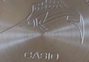 Casio Marlin tapa trasera