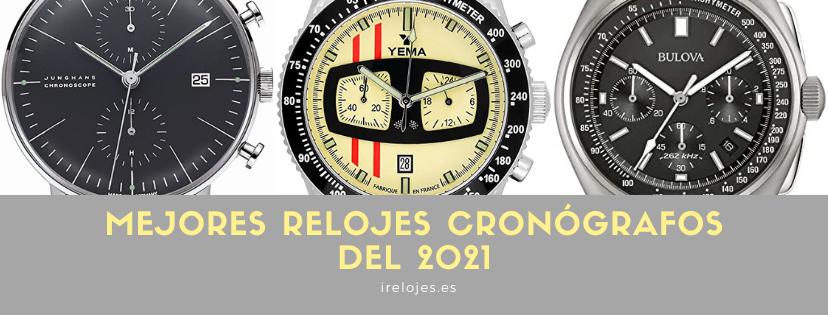 Mejores relojes chrono 2021